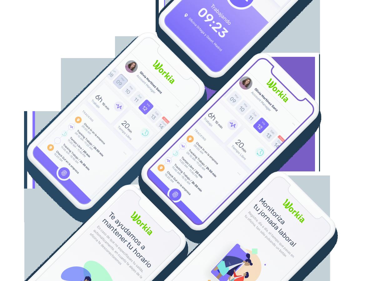 Workia – Tu App de registro de jornada