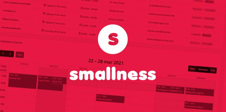 Smallness – Gestión de reservas / citas previas online