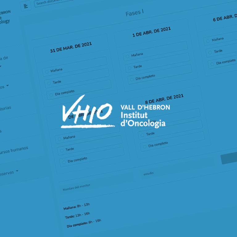 VHIO – Intranet Hospital Vall d'Hebron